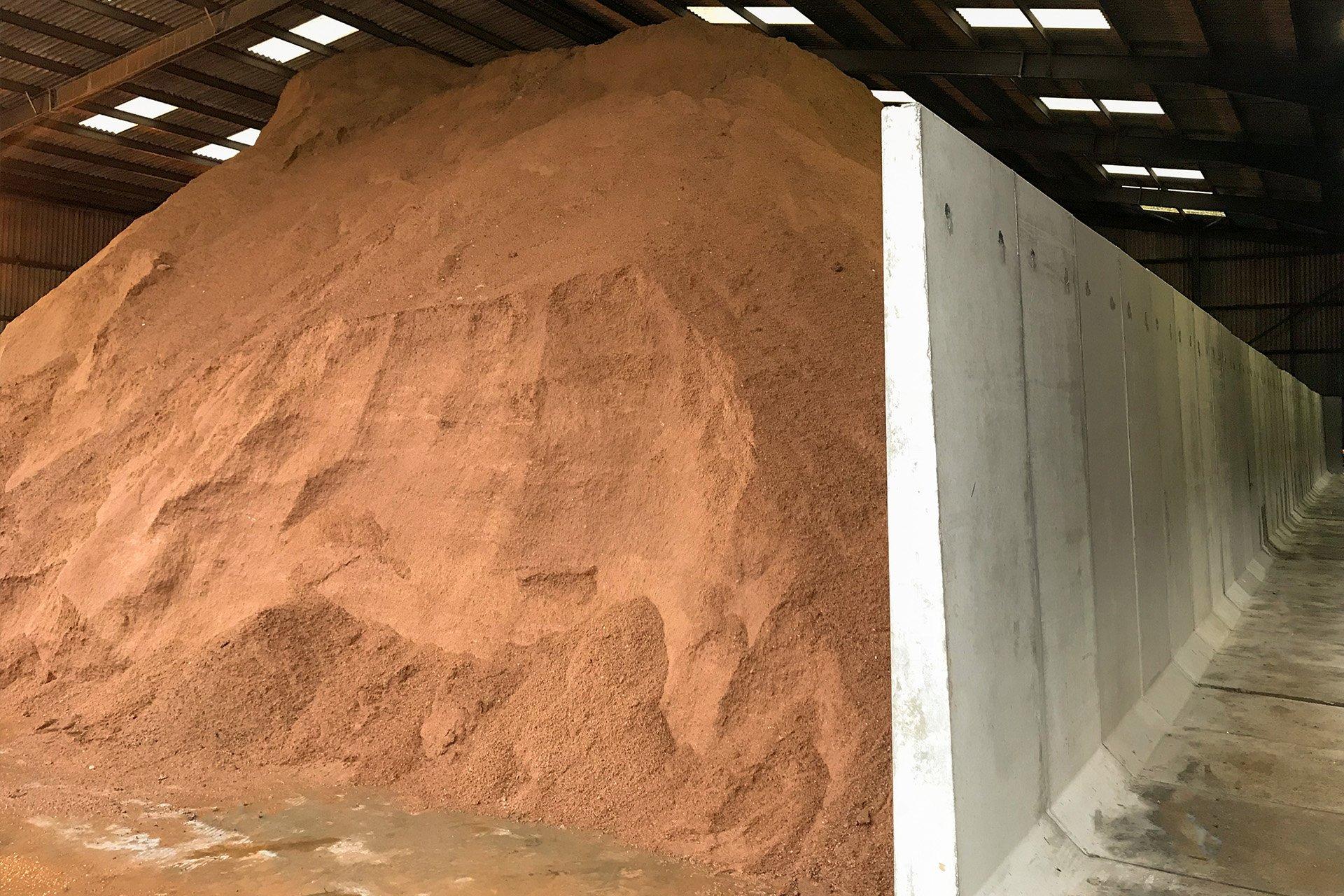 Salt Barn Retaining Walls